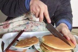 休日の朝食はパン・ホットケーキ ホテルニューオータニ ホットケーキミックス バニラタイプ