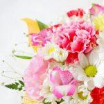 結婚記念日はお花と大好きな食べ物で