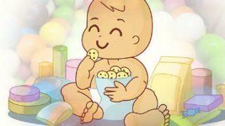 ハイハインが割れる 赤ちゃんのハイハイン入れ こんな商品ほしかった! おやつケース