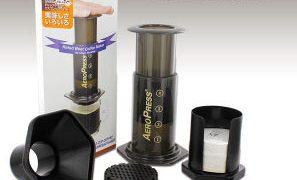 押してコーヒーが作れる道具 エアロプレス コーヒーメーカー まちかど情報室から