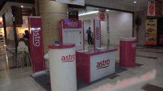 マレーシアでインターネットの契約 光ファイバーとADSL maxis 携帯電話 TV astro アストロ契約方法