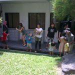 竹とんぼ教室 こどもも大人もはしゃぐ 日本の伝統の遊び ミッドバレー 日本人会 in KL