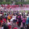 マレーシアの幼稚園の運動会 REAL KIDS Sports day スポーツデイは朝から大雨 付近は大渋滞 なんだかんだ盛り上がります。
