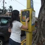 マレーシアのパーキングメーターの使い方 違反切符をきられるとあとが大変 in Malaysia