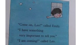 おすすめ英語の絵本 Leo and Emily レオとエミリー by FRANZ BRANDENBERG illustrated by ALIKI