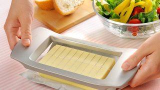 バターがカットできる道具 らくらくバターカッター まちかど情報室から