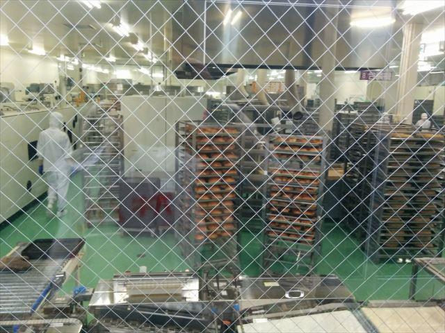 オギノパン 工場見学