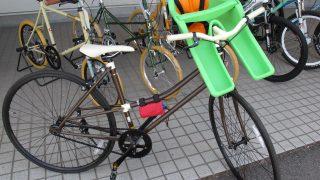 スポーツタイプの自転車に取り付けられる子供用シート マウンテンバイク 子供乗せシート アイバート IBERT
