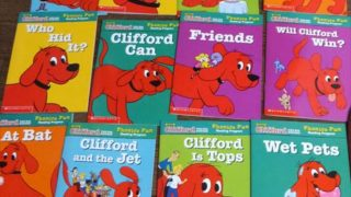 おすすめ幼児向け英語教材 おすすめ英語の絵本 クリフォード フォニックスボックスセット