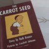 おすすめ英語の絵本  The Carrot Seed  人参の種 幼児向け for toddlers