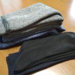 100均 ダイソー 男性用冬用の分厚い靴下で冷たい床も怖くない