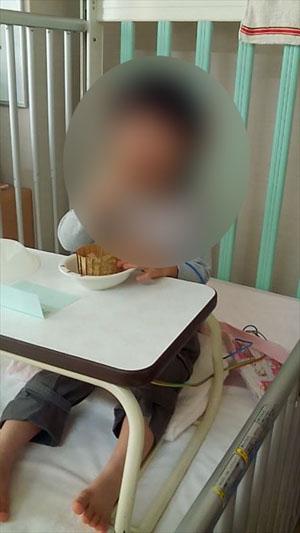 川崎病 3歳 入院生活