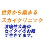 広島クリニック(昔)⇒ スカイクリニック(現在) (潰瘍性大腸炎 セイタイ 青黛のおかげで生きてます )