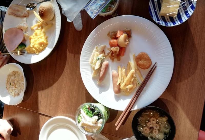 ホテルマイステイズお茶の水 朝食 ブッフェ