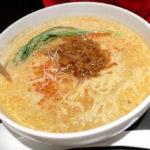 デニーズの担々麺 抹茶パルフェとかき氷レモンミルクが絶品でした。°˖✧◝(⁰▿⁰)◜✧˖°