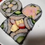 飾り巻き寿司に挑戦 バラ巻き寿司 四角い四海巻き寿司 桃の花巻き寿司!