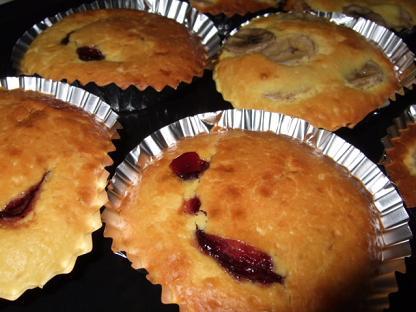 ホットケーキミックスを使ってマドレーヌ作り