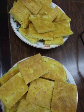 セルビア料理 ハムチーズパン