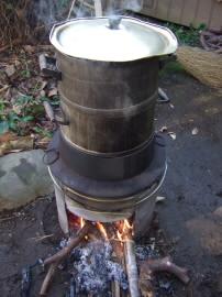 餅つき 道具 もち米蒸し器